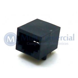Conector RJ45 DS-1135-S100BP com 10 Vias