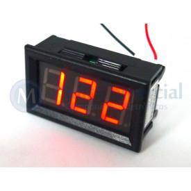 Voltímetro YB27A AC30 - 500V - Vermelho