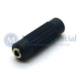 Adaptador Jack 3.5mm/3.3mm Estéreo - JL16080B - Jiali