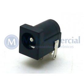 Jack J4 2.1mmX5.5mm - Com Pino de 2.1mm - DC-005 - JL13028A - Jiali