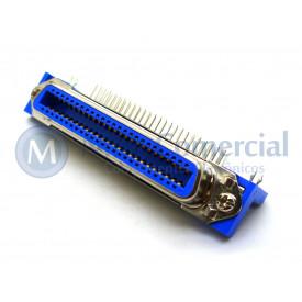 Conector Centronics Fêmea 90° PCI DS-1079 - 50 Vias - Connfly