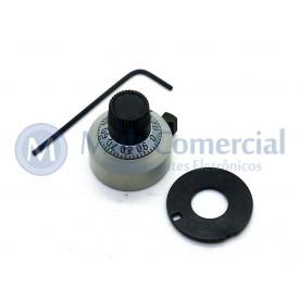 Knob Dial para Potenciômetro de Precisão - 18-1-11 - Vishay