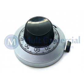 Knob Dial para Potenciômetro de Precisão - 21-A-11 - Vishay