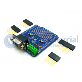 Conversor RS232/RS485 Compatível com Arduino
