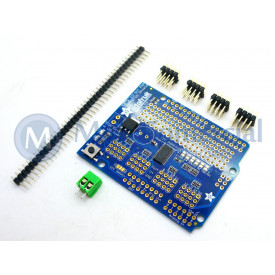 Servo Motor Shield 16 Canais Compativel com Arduino
