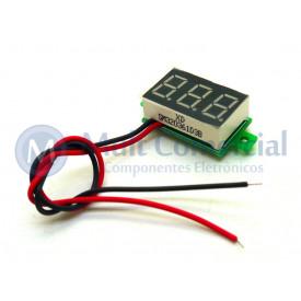 Mini Voltímetro Digital LED Vermelho - GC-115