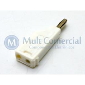 Pino Banana Branco 4mm - PB082 - Fusi-Brás