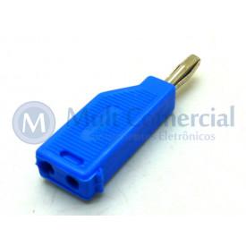 Pino Banana Azul 4mm - PB082 - Fusi-Brás