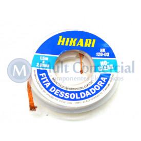 Fita Malha Dessoldadora 1.5mX2.0mm HK-120-03 - Hikari