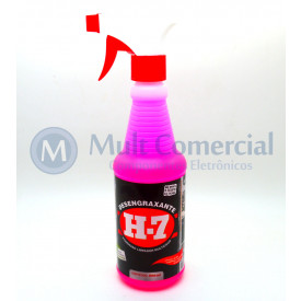 Desengraxante H-7 Spray Removedor Multiuso 500ml - H-7