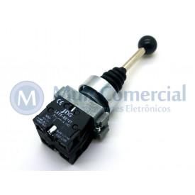 Chave Manipuladora 10(6)A 400V - 2 Posições com Retorno ao Centro - LAY5-PA22 - JNG