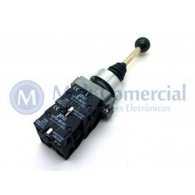 Chave Manipuladora 10(6)A 400V - 4 Posições com Retorno ao Centro - LAY5-PA24 - JNG
