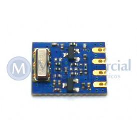 Módulo transmissor sem fio 1.3-9V 868MHz para controle remoto - HPD8407F-868S