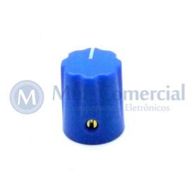 Knob com parafuso Azul - KN-1900H