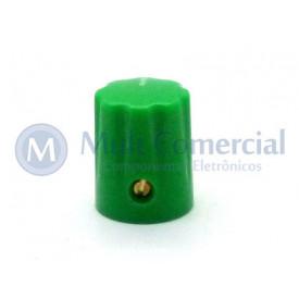 Knob com parafuso Verde - KN-1900H