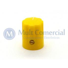Knob com parafuso Amarelo - KN-1900H