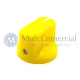 Knob Fulltone com parafuso Amarelo - KN-19