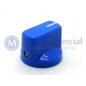 Knob Fulltone com parafuso Azul - KN-19