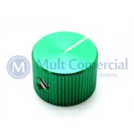 Knob de Alumínio com Parafuso A-2014 - Verde