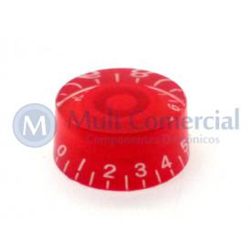 Knob númerado (0-10) Vermelho - C-2005