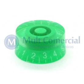 Knob númerado (0-10) Verde - C-2005