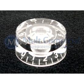 Knob númerado (0-10) Transparente - C-2005