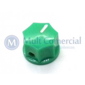 Knob com Parafuso Padrão MXR - KN-1250 - Verde