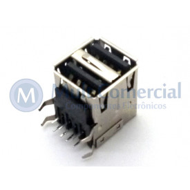 Conector USB - A Macho Duplo - 90 PCI DS1096