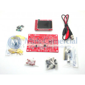 Kit para montagem (DIY) Osciloscópio Digital - DSO138