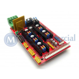 Shield de Impressora 3D compatível com Arduino Mega RAMPS 1.4