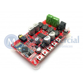 Amplificador de Áudio Bluetooth 4.0 Receptor TDA7492P 50+50W