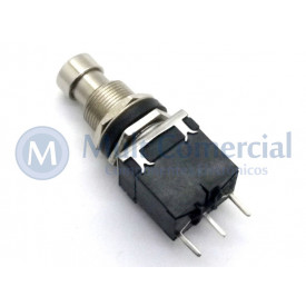 Chave SPDT Foot Switch Momentânea On-(On) para solda em placa PCI PBS-24-112P