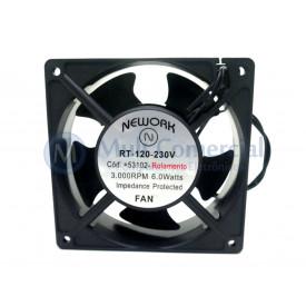 Micro Ventilador Cooler Bivolt 120x120x38mm Rolamento Bivolt 3.000RPM 53.102 Nework