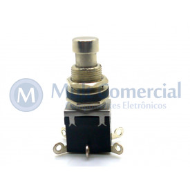 Chave DPDT Foot Switch Momentânea On-(On) para solda fio PBS-24-212