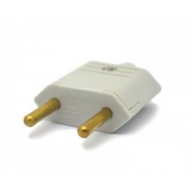 Plug Desmontável A/C Cinza 10A/250V - JL25040/PLD1-2 - Margirus