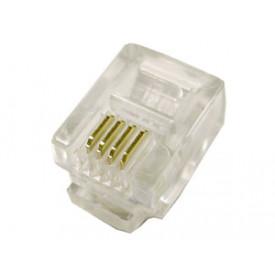 Conector RJ11 6X4 4 Vias - DS1122-03-P40T