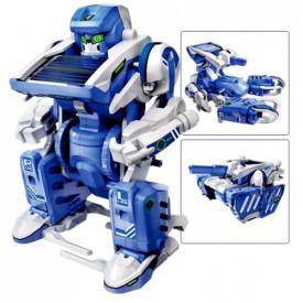 Kit Educacional Robô Solar - 3 EM 1 - Facíl de Montar - WP112230