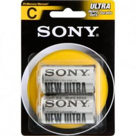 Cartela com 2 Pilhas Zinco Carbono C ULTRA Heavy DUTY SUM2-NUB2A - Sony