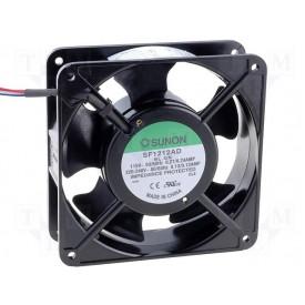 Microventilador Cooler SF1212AD/SLGN Bivolt 115/230VDC 3.100RPM 19 Watts (120x120x38mm) Bucha - Sunon
