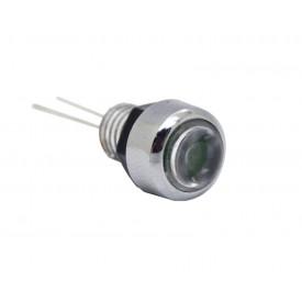 Suporte de LED 5mm cromado com lente - SP5.8 - Patola