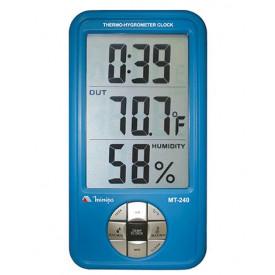 Termo-higrômetro Digital Interno/externo Mt-240 Minipa