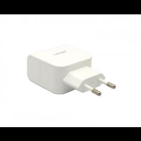 Tomada Carregador 2.1A com 2 USB - DL-AC56 - LDNIO