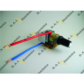 Dimmer Universal com Chave On/Off (Click) 1000W / 220V - 650W / 110V (CÓD: MDU/01) - D.A.L Eletrônica