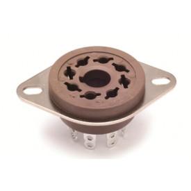 Soquete para Válvula de 8 Pinos (Octal) Solda Fio VT8-ST - Belton