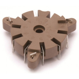 Soquete para Válvula de 9 Pinos (Noval) VT9-PT-2 - Belton