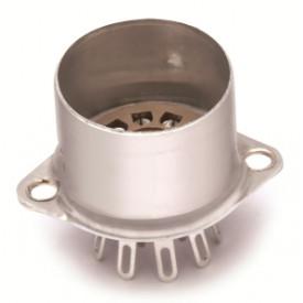 Soquete para Válvula de 9 Pinos (Noval) Solda Fio VT9-ST-C - Belton