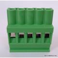 Conector Verde Multipolar AKZ1110.03 Fêmea de 3 vias - Passo 5,08mm - Phoenix Mecano