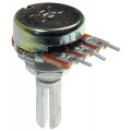 Potenciômetro 16mm Lin B250K Ω eixo estriado com 20mm - B250KL20KC