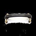 Alça para amplificador Meteoro Cavalete na Cor Dourado e Porca Tipo Garra - Preto