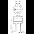 Buzzer Contínuo 6V 12mm